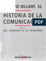 135002906 Williams Raymond Historia de La Comunicacion Vol I 1992