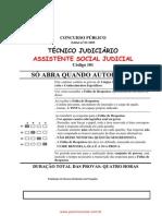 Assistente Social Judicial c Digo 101