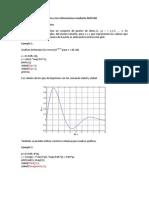 MATLAB Ejemplos de gráficas en dos y tres dimensiones mediante