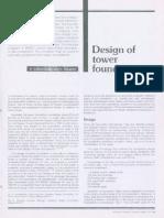 1 Design of Tower Foundations Subramonia Book GOOD GOOD