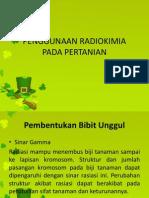 Penggunaan Radiokimia Pada Pertanian