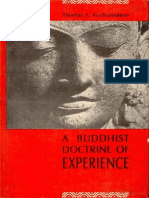 Buddhist Doctrine of Experience