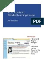 IELTS Blended Overview