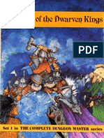 The Halls of the Dwarven Kings