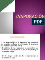Evaporacion y Secado