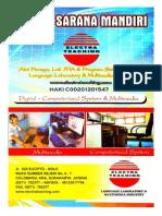 Brosur Lab Bahasa