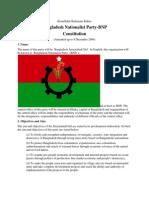 Constitution of BNP