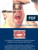 Manifestaciones Orales de Enfermedades Sistémicas