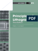 Principle of Lithography