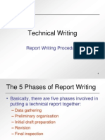 Report Writing Procedures