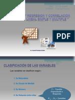 Regresion y Correlacion Simple y Multiple