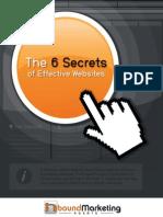 6 Secrets of Effective Websites