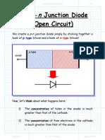 The Pn Junction Diode(Open Ckt)