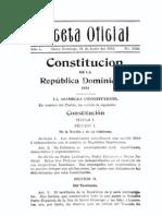 Constitucion 1924