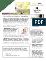 200908 Newsletter and Calendar