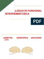 ESPECIALIZACIÓN INTERHEMISFÉRICA- SPERRY