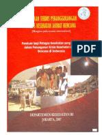 Buku Pedoman Teknis Penanggulangan Krisis Kesehatan Akibat Bencana Tahun 2007(1)