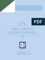 manual bsico word 2013