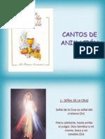 CANTOS DE ANIMACIÓN- JORNADA