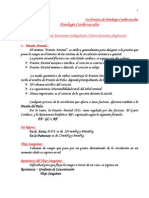 4ta Práctica de Fisiología Cardiovascular