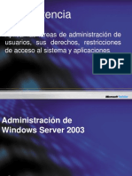 Administracion de La Plataforma Windows Server 2003