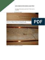 3º Parte Maqueta colgante en techo Antonio y su gato Tobías