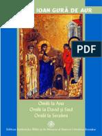 Sf Ioan Gura de Aur_Omilii La Ana. Omilii La David Si Saul. Omilii La Serafimi