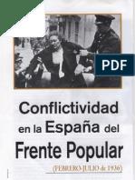 Conflictividad en la España del Frente Popular (Febrero-Julio de 1936)