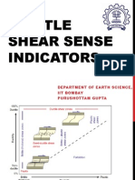Brittle Shear Sense Indicators