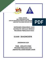 Ujian Diagnostik Matematik Baru(Ikamr)2