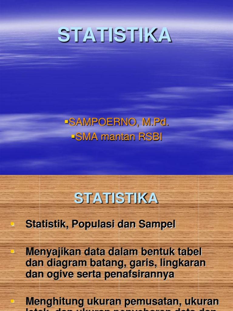 Statistika ppt matematika ccuart Choice Image