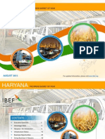 Haryana State India Economic Snapshot