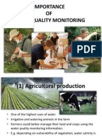 Importance water quality control