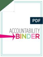 Accountability Binder Generic