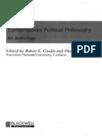 Goodin Pettit (Eds) 1997 - Contemporary Political Philosophy