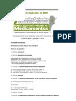 Programa preliminar Jornadas Medicamentos