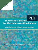 El derecho a decidir desde las libertades constitucionales