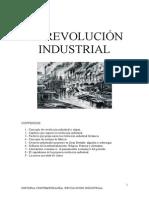 GUIÓN , RESUMEN DE LA REVOLUCIÓN INDUSTRIAL.