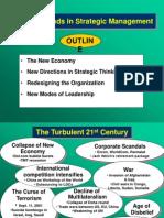 Current Trends in Strategic Management