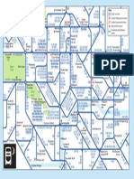 Central London Night Bus Map