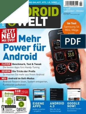 Androidwelt 05 13 Mehr Power Für Android