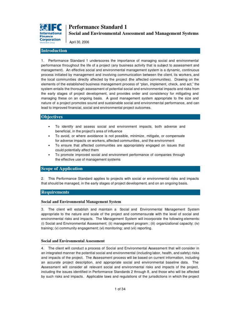 social and environmental impact assessment essay Scp expansion project, azerbaijan environmental and social impact assessment final approach and methodology 3-1 3 approach and methodology.