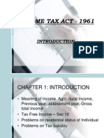 Income Tax Act - 1961