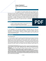 IFC's Performance Standard 3