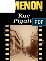 Maigret [26] - Simenon,Georges - Rue Pigalle