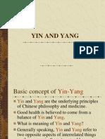 (2) Yin and Yang