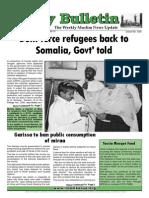 Friday Bulletin 13 Nov 2013