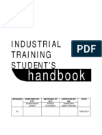 Industrial Training Student Handbook