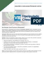 Voltemosaoevangelho.com-Como Funciona o Discipulado e Como Posso Discipular Outros Cristos