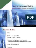 Apreciación Artística - Arte, Estética y Belleza